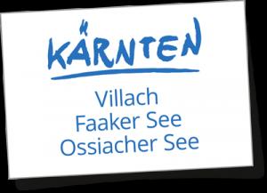 Kärnten: Villach, Faaker – & Ossiacher See